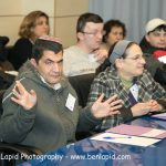 Part of the audience at the self-advocacy meeting in Israel