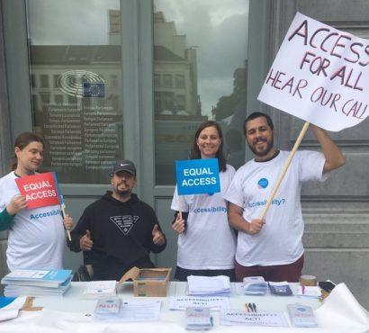 European Parliament: Adopt a strong Accessibility Act!