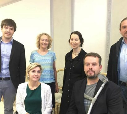 «Easy-to-read benefits all people!» Inclusion Europe meets its Russian member Perspektiva in Moscow