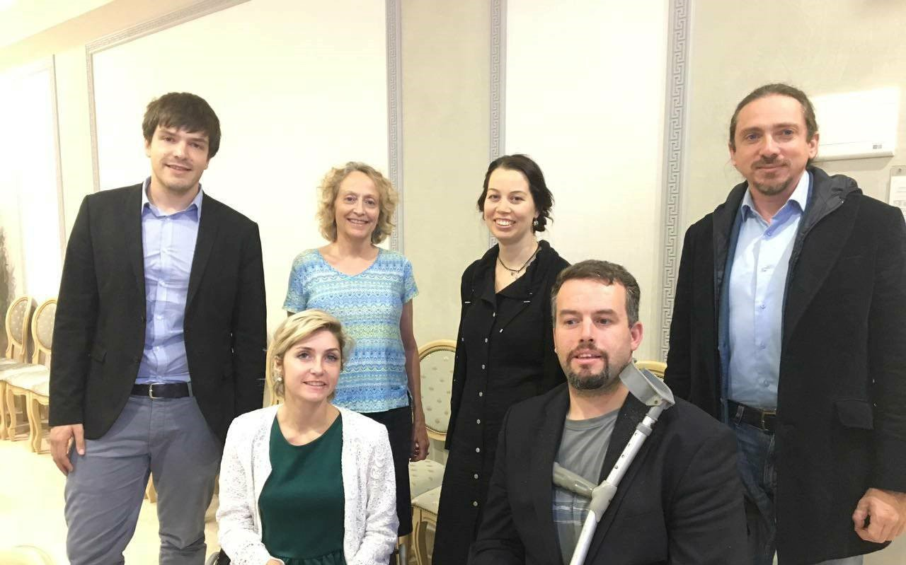 """Easy-to-read benefits all people!"" Inclusion Europe meets its Russian member Perspektiva in Moscow"