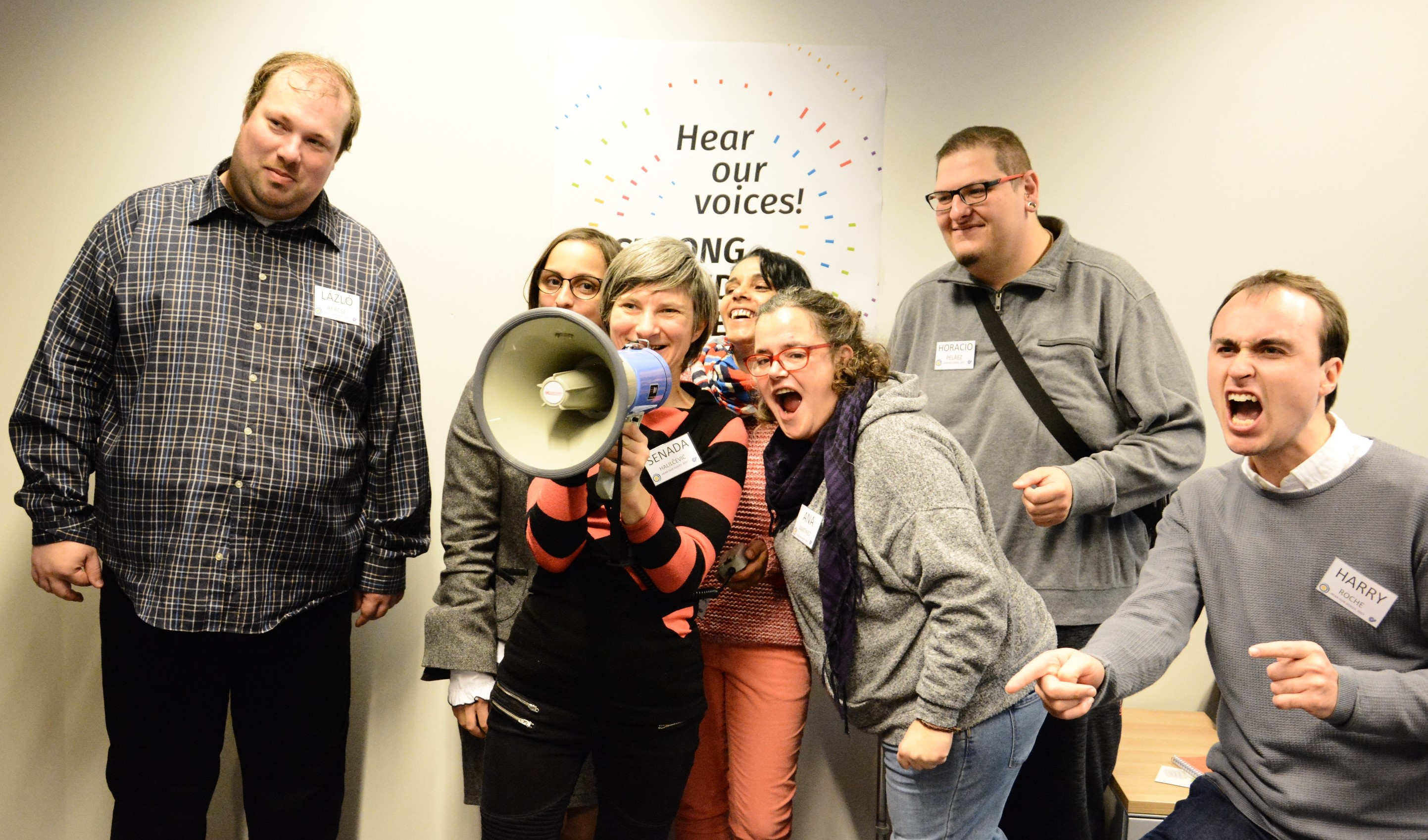 Hear our Voices! Self-advocates meet in Brussels