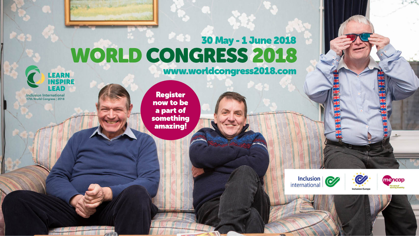 Learn, Inspire, Lead: Programme of World Congress 2018 published