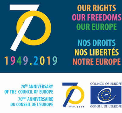 Happy 70th anniversary to the Council of Europe!