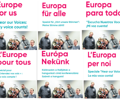 A special edition of Europe for us is now online!