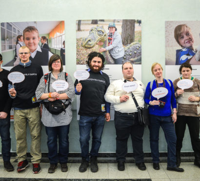 """Here I am!"": an exhibition about people with intellectual disabilities in Moscow"