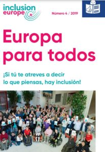 Europa para todos - cover of Spanish version of Europe for us