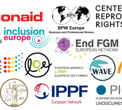 Letter to EU Heads of State: Provide funding to end violence against women and girls