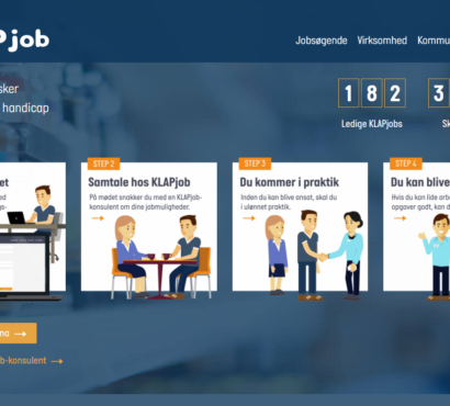 KLAPjob: supporting employment and inclusion of people with disabilities in the labour market