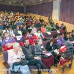 The audience at the self-advocacy meeting in Israel