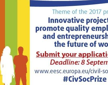 Civil Society Prize – call for proposals now open!