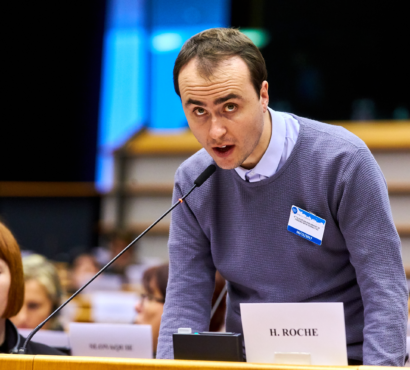 """What if all people had to do a test to vote?"" – Inclusion Europe board member Harry Roche speaks to EU leaders at Disability Parliament"