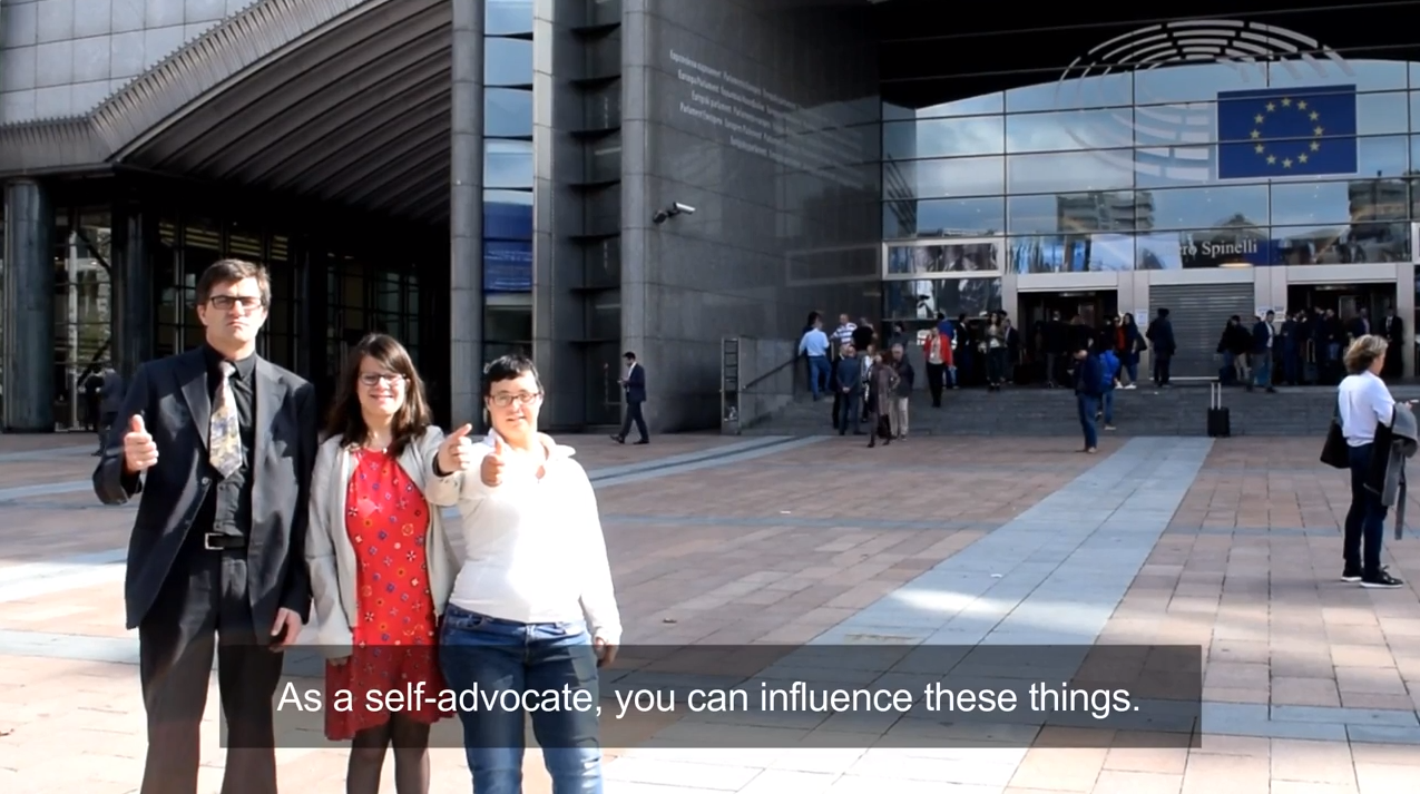 "Inclusion Europe publishes video on ""Participating in politics"""