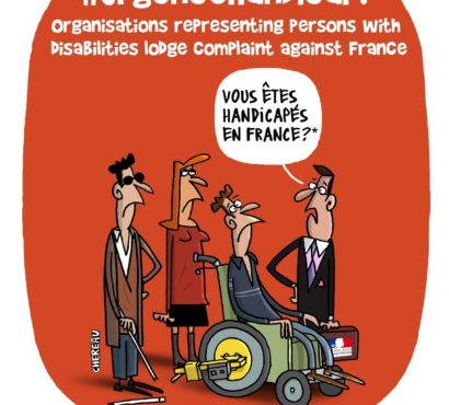 Organisations representing persons with disabilities lodge complaint against France