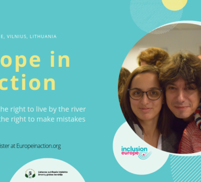 "Europe in Action conference ""Making decisions – living independently"""