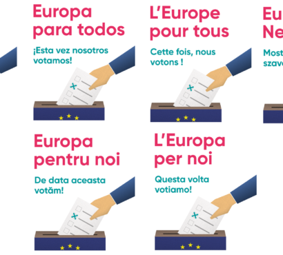 "Just published: Europe for us on ""This time we are voting"""