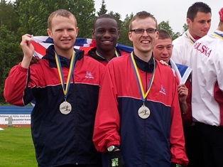 Athletes with intellectual disabilities compete at the INAS Open European Athletics Championships